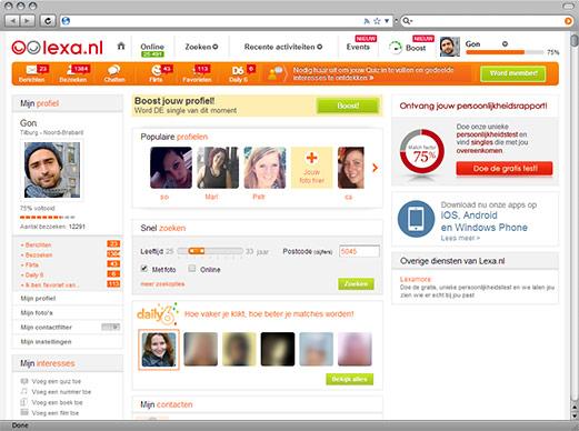 Jouw profiel op Lexa.nl