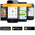 Dcouvrez Meetic sur votre mobile